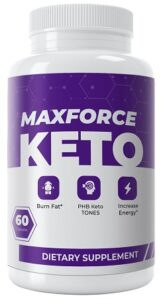 Max Force Keto Pills