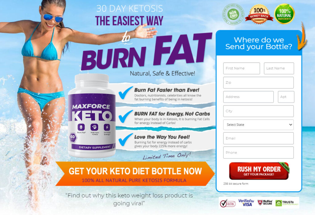 Where to Buy Max Force Keto
