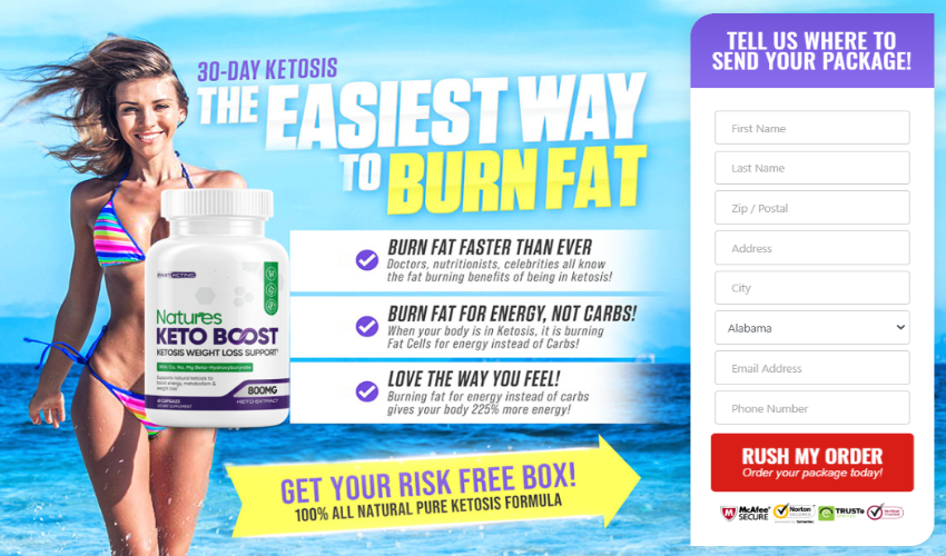 Where to Buy Natures Keto Boost