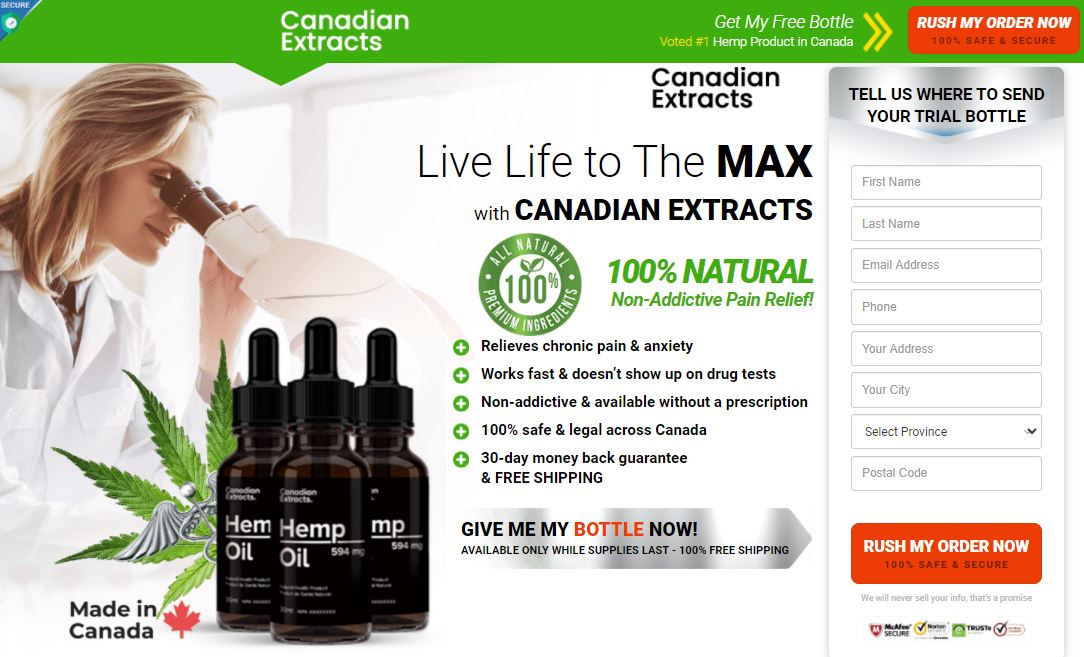 Where to Buy Canadian Extracts Hemp Oil