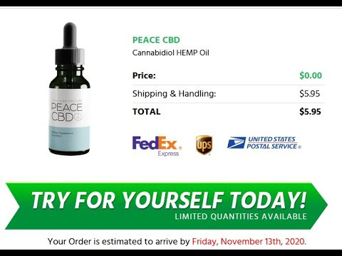 Peace CBD Oil Price