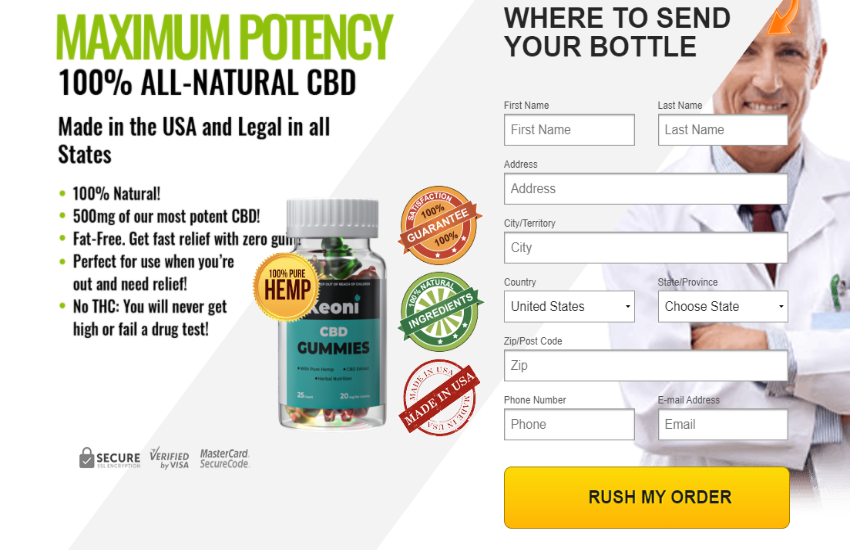 Where to Buy Keoni CBD Gummies